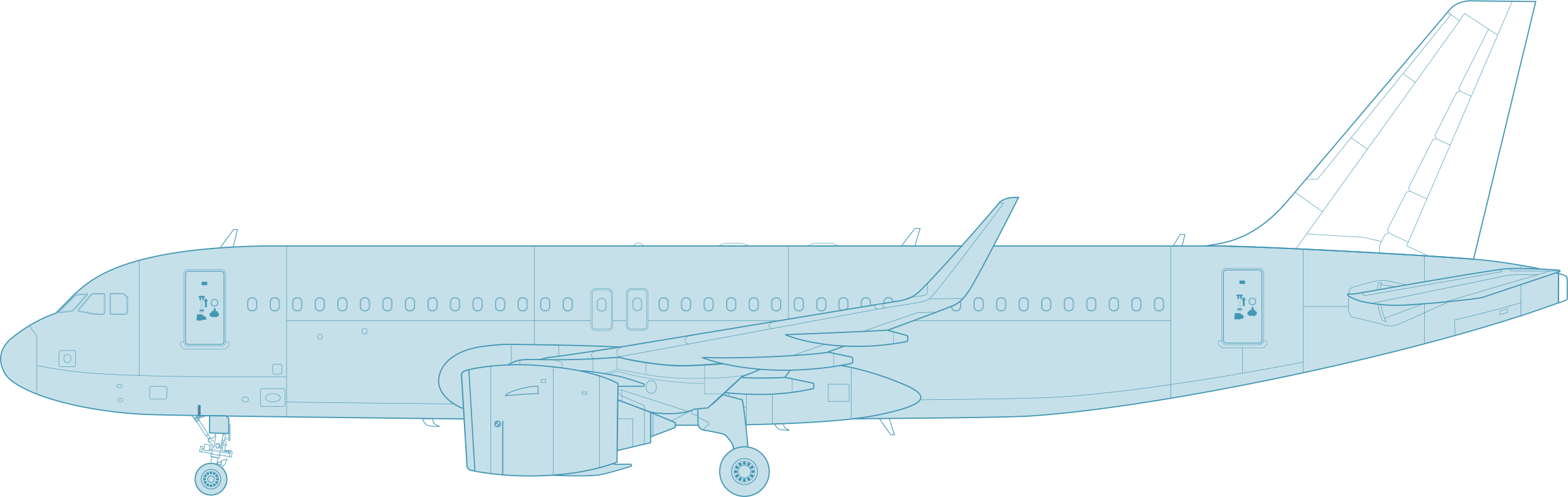 Aircraft Outer View